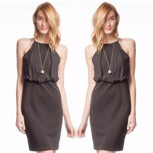 Black Pencil Skirt Dress by She & Sky
